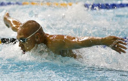 Rc006 - 20020802 - Manchester United Kingdom : Australian Geoff Huegill in Action During the 2002 Manchester Commonwealth Games Men's 100m Butterfly First Round 02 August 2002 Huegill Won the Heat Epa Photo United Kingdom Manchester