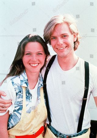 'Zapped Again'  Film - 1990 - Kevin (Todd Eric Andrews) and the bookish Lucy (Kelli Williams)