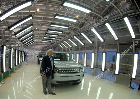 Editorial picture of India Tata Motors Land Rover Assemby Unit - May 2011