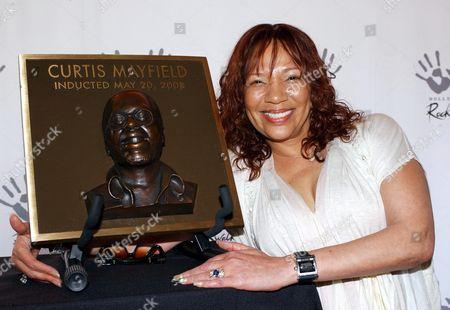 Curtis Mayfield's widow Altheida