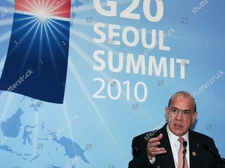 Editorial photo of South Korea G20 Summit - Nov 2010