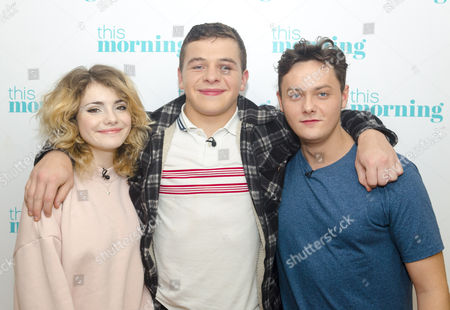 Ramona Marquez, Daniel Roche and Tyger Drew-Honey