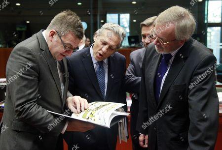 Editorial image of Belgium Eu General Affairs Council - Nov 2011
