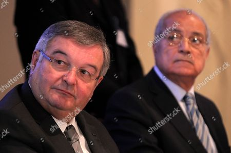 Editorial photo of Egypt France Justice Conference - Mar 2012