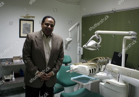 Egyptian Novelist who is Also Dentist Alaa Al-aswany Poses For a Photograph at His Office in Cairo Egypt 09 December 2011 Egyptian Novelist Alaa Al-aswany During an Interview with a Journalist From Spanish News Agency Efe at His Office in Cairo Egypt 09 December 2011 According to Media Reports End November Al-aswany was Named One of the Top Global Thinkers by the Foreign Policy Magazine in Its Annual List of 100 Men and Women who Influence the World Egypt Cairo