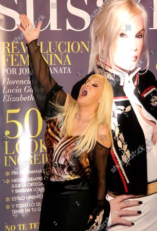 Editorial photo of Susana Gimenez presents her new magazine, Buenos Aires, Argentina - 20 May 2008