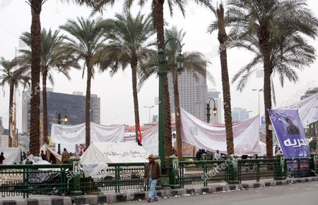 Editorial image of Egypt Tahrir Square After First Round of Elections - Dec 2011