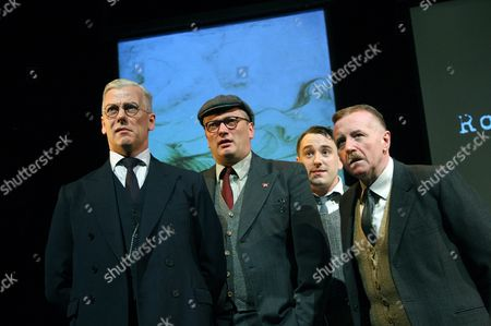 Deka Walmsley (George), Michael Hodgson (Harry), Brian Lonsdale (Young Lad) and David Whitaker (Jimmy)