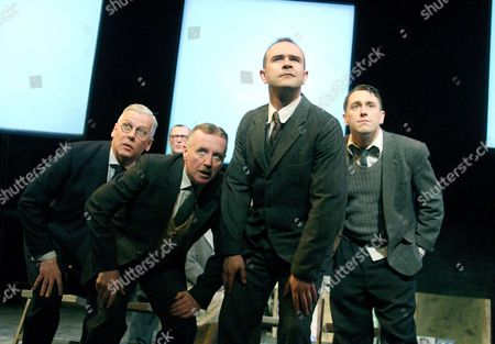 Deka Walmsley (George), David Whitaker (Jimmy), Christopher Connel (Oliver) and Brian Lonsdale (Young Lad)