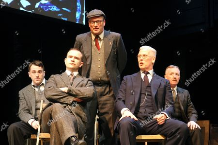 Brian Lonsdale (Young Lad), Christopher Connel (Oliver), Michael Hodgson (Harry), Deka Walmsley (George) and David Whitaker (Jimmy)