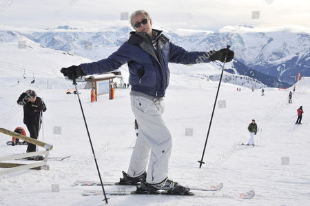 French Actor Franck Dubosc Poses For Photographs As He Attends the 15th Annual International Comedy Film Festival in L'alpe D'huez France 19 January 2012 the Festival Runs From 17 to 22 January France Alpe D'huez