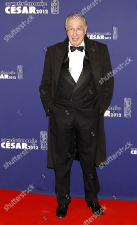 French Actor Bernard Le Coq Arrives For the 37th Annual Cesar Awards Ceremony Held at the Chatelet Theatre in Paris France 24 February 2012 France Paris