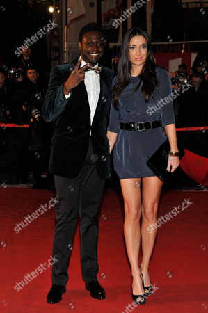 Canadian Singer Corneille and His Wife Sofia De Medeiros Arrive For the 13th Annual Nrj Music Awards at the Palais Des Festivals in Cannes France 28 January 2012 the Award Ceremony is Part of the Midem Music Festival That Runs From 28 to 31 January France Cannes