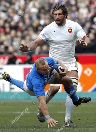 Editorial photo of France Rugby Six Nations - Feb 2012