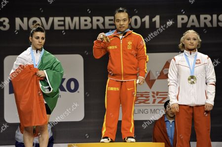 Editorial picture of France Weightlifting World Championships - Nov 2011