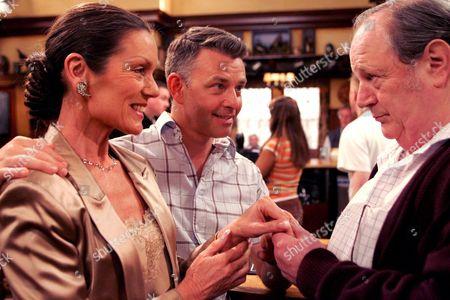 'Emmerdale'   TV Lorraine Chase, Richard Shelton and Richard Thorp