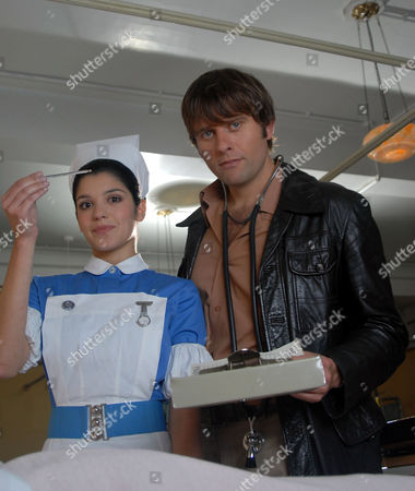 'The Royal'   TV   Series 6 Natalie Anderson and Sam Callis