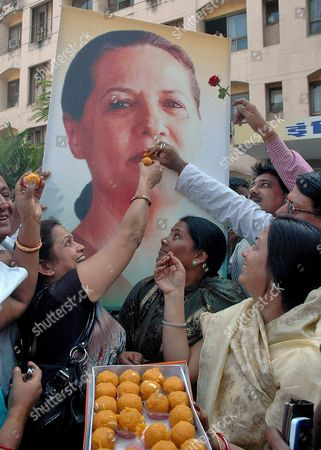 Editorial photo of India People Sonia Gandhi - Dec 2011