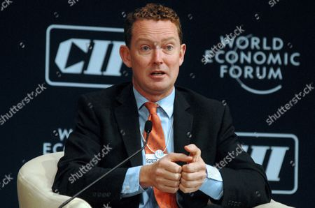 Gregory Barker Minister of State For Climate Change of the United Kingdom Speaks During the Plenary Session on 'Green Growth in India: From Agenda to Action' During the India Economic Summit 2011 in Mumbai India 14 November 2011 the World Economic Forum in Partnership with the Confederation of Indian Industry (cii) is Hosting Its Annual India Economic Summit For the First Time in Mumbai From the 12th to 14th of November Under the Working Theme Linking Leadership with Livelihood Over 800 Participants From 40 Countries Will Be Taking Part India Mumbai