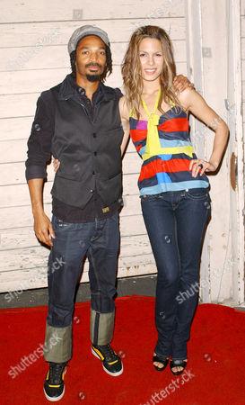 Eddie Steeples and Nadine Velazquez