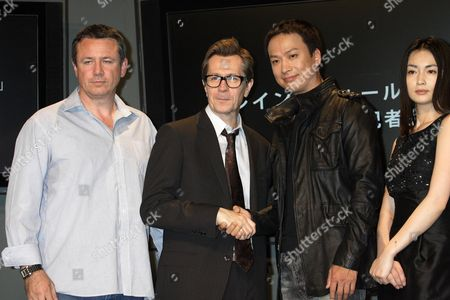 Editorial picture of 'Rain Fall' film press conference, Tokyo, Japan - 22 May 2008
