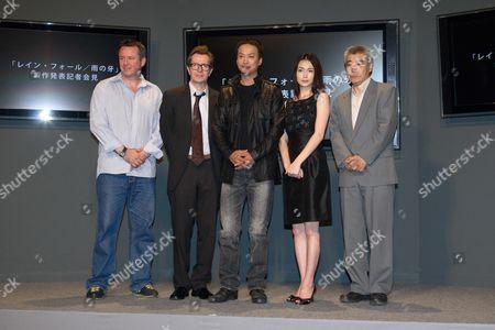 Editorial image of 'Rain Fall' film press conference, Tokyo, Japan - 22 May 2008