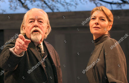 Jemma Redgrave as Varya and William Gaunt as Gayev
