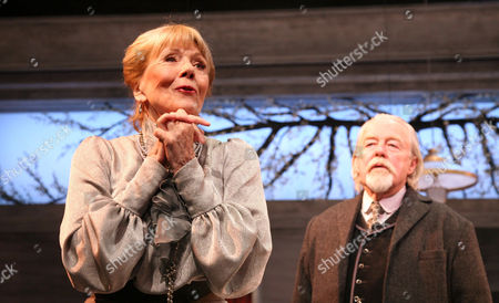 Diana Rigg as Ranyevskaya and William Gaunt as Gayev