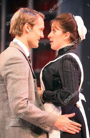 Stock Photo of Natalie Cassidy as Dunyasha and Oliver Kieran-Jones as Yasha