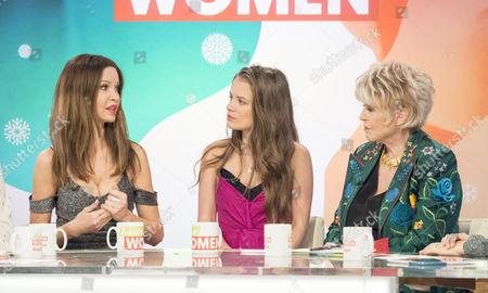 Editorial photo of 'Loose Women' TV show, London, UK - 22 Dec 2016