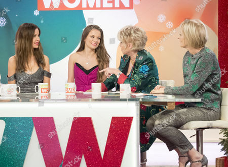 Editorial picture of 'Loose Women' TV show, London, UK - 22 Dec 2016