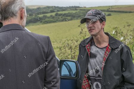 Stock Picture of EPISODE 1 - Pictured: Mark Bonnar as Colin and Josef Altin as Tyler.