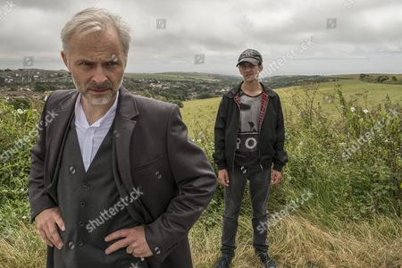 EPISODE 1 - Pictured: Mark Bonnar as Colin and Josef Altin as Tyler.
