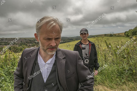 Stock Image of EPISODE 1 - Pictured: Mark Bonnar as Colin and Josef Altin as Tyler.