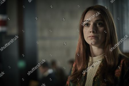 Stock Image of ITV ENDEAVOUR SERIES IV EPISODE 1 Pictured :RUBY THOMAS as Tessa Knight.