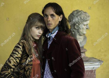 SERIES IV FILM 2 Pictured : Kajsa Mohammar as Anna-Britt Clark and JONATHAN BARNWELL as Christopher Clark.
