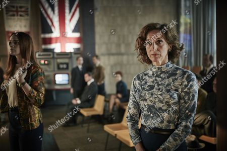 ITV ENDEAVOUR SERIES IV EPISODE 1 Pictured : Abigail Thaw as Dorothea Frazil.
