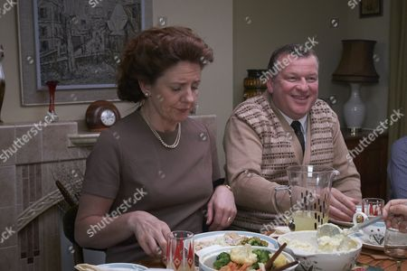 EPISODE 1 Pictured : NEAL BARRY as Bib Bob and Clare Burt as Doss.