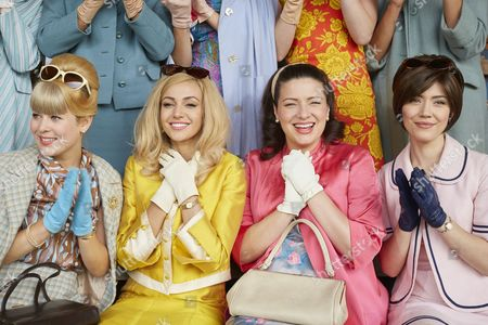 EPISODE 1 Pictured :AMY CLARK as Lesley Ball, Michelle Keegan as Tina, Sophie Austin as Judith Hurst and Linzey Cocker as Kathy Peters.