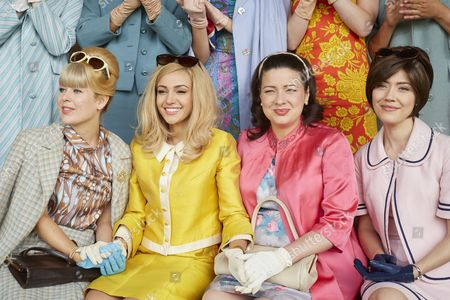 EPISODE 1 Pictured : AMY CLARK as Lesley Ball, Michelle Keegan as Tina, Sophie Austin as Judith Hurst and Linzey Cocker as Kathy Peters.