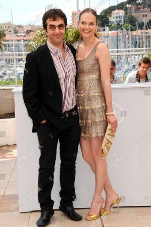 Atom Egoyan and Rachel Blanchard