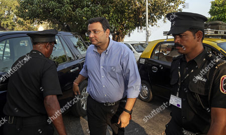 Cyrus Mistry, ousted chairman of Tata Group arrives at his office in Mumbai, India, 22 December 2016. According to reports, Mistry on 19 December 2016 resigned from all the six listed Tata Group companies. Ratan Tata assumed charge as interim chairman, after the Tata Sons board sacked its chairman Mistry on 24 October 2016.
