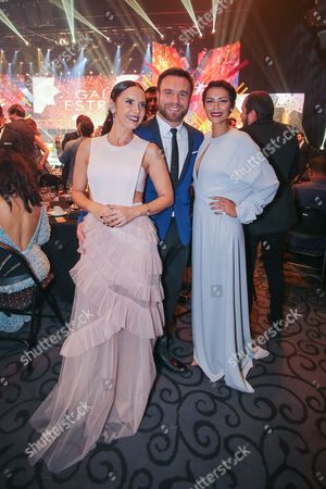 Iva Domingues, Nuno Eiro and Sofia Ribeiro