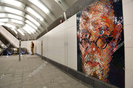 Mosaics by Chuck Close adorn the walls of the new 86th Street subway station in New York,. The first phase of the 2nd Avenue subway line, which has three stops, is scheduled to open on Jan. 1, 2017