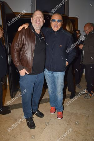 Harvey Weinstein, Tony Renis