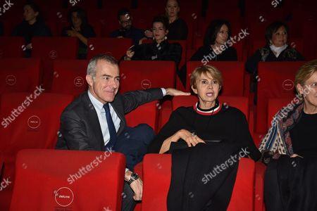 Rossana Letta and Giampaolo Letta