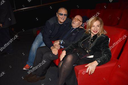 Tony Renis, Dante Ferretti, Francesca Lo Schiavo