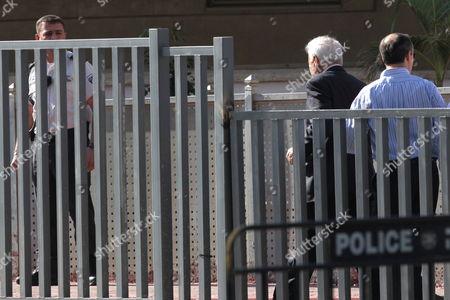 Editorial image of Israel Tel Aviv Katsav Prison - Dec 2011