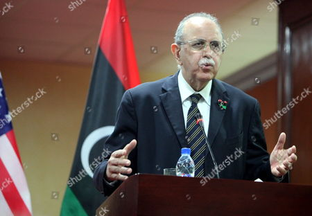 Editorial picture of Libya Us Ambassador to the Un Visit - Nov 2011