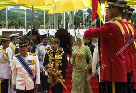 Editorial image of Malaysia King Farewell - Dec 2011